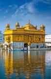 золотистый висок Индии Стоковые Изображения RF