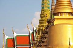 золотистый дворец Стоковые Фотографии RF
