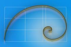 золотистый коэффициент Стоковые Изображения RF