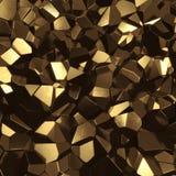 золотистый минерал Стоковое фото RF