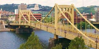 Золотистый мост Стоковая Фотография RF