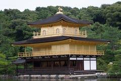 золотистый павильон kyoto Стоковое Изображение