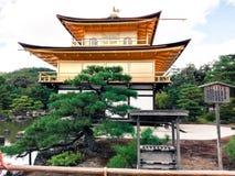 золотистый павильон kyoto Стоковое Изображение RF