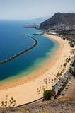 Золотистый пляж Стоковые Изображения RF