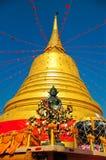 золотистый pagoda горы Стоковое Изображение