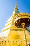 золотистый pagoda Стоковое фото RF