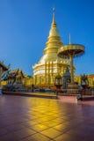 золотистый pagoda Стоковые Фото