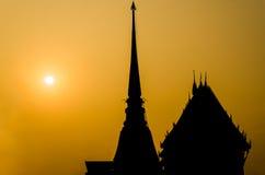золотистый pagoda Стоковые Изображения RF