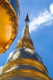 золотистый pagoda Стоковое Фото