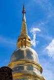 золотистый pagoda Стоковая Фотография
