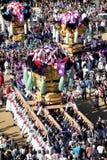 Золотое большое festiva святыни Стоковые Изображения