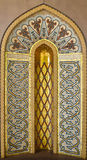 Золотое исламское искусство Стоковые Фотографии RF