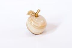 Золотое каменное яблоко стоковое изображение