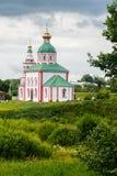 Золотое кольцо православной церков церков России Стоковая Фотография