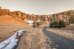 Золотое путешествие Исландия круга: водопад Стоковые Изображения