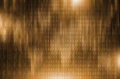 Золотое шифрование цифров Стоковые Фотографии RF