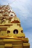 Золотое Bodh Gaya в Sangkhlaburi Стоковые Изображения RF