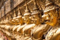 Золотое Garuda Wat Phra Kaew на Бангкоке, Таиланде Стоковая Фотография