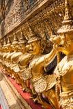 Золотое Garuda Wat Phra Kaew на Бангкоке, Таиланде Стоковые Фотографии RF