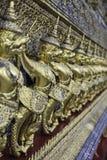 Золотое Garuda Wat Phra Kaew на Бангкоке Таиланде Стоковые Изображения RF