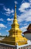 Золотое stupa Стоковая Фотография