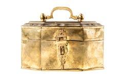 Золотой ларец Стоковое Фото