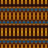 Золотой безшовный конспект Стоковое Изображение