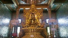 Золотой Будда на Botataung Paya Стоковые Изображения RF