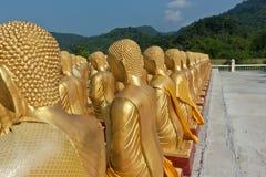 Золотой Будда. Стоковое Фото