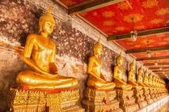 Золотой Будда Стоковые Изображения RF