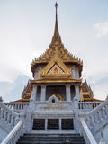 Золотой висок Будды Стоковое фото RF