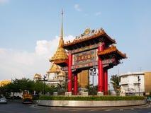 Золотой висок Будды Стоковые Фото