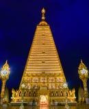 Золотой висок в Таиланде Стоковые Фотографии RF
