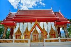 Золотой висок в Таиланде Стоковая Фотография RF