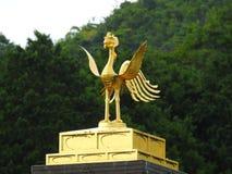 Золотой висок в Kjoto Стоковое фото RF