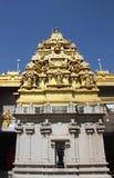 Золотой висок Sivavof Murudeshwara в Gokarna в Индии Стоковое фото RF