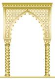 Золотой восточный свод Стоковое фото RF