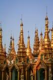 Золотой городок виска стоковая фотография rf