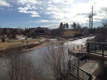 Золотой городок Колорадо Стоковые Фотографии RF