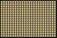 Золотой конспект поверхности металла промышленный Стоковая Фотография