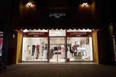 Золотой магазин пункта Стоковое Фото