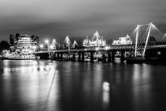 Золотой мост юбилея Стоковое фото RF