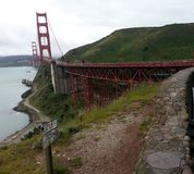 Золотой мост Gaye Стоковые Изображения
