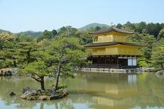 Золотой павильон Киото Стоковые Изображения
