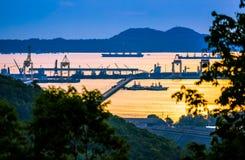 Золотой порт Стоковая Фотография RF