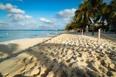 Золотой пляж в тропиках Стоковая Фотография RF