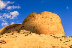 Золотой риф капитолия трона Стоковая Фотография RF