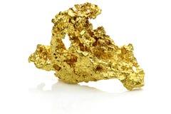 Золотой самородок стоковые фото