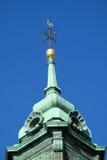 Золотой святой христианский крест Стоковые Фотографии RF