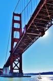 Золотой строб моста Стоковые Фотографии RF